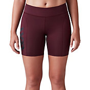 "SECOND SKIN Women's QUATROFLX 7"" Compression Shorts"