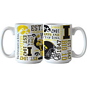 Boelter Iowa Hawkeyes Spirit 15oz Coffee Mug 2-Pack