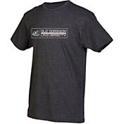 boxercraft Men's Old Dominion Monarchs Grey Just for You Crew Block Wordmark and Logo T-Shirt