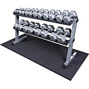 Body Solid GDR60 Hex Dumbbell Rack and Set