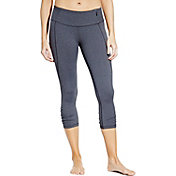 CALIA by Carrie Underwood Women's Essential Tight Fit Heathered Capris
