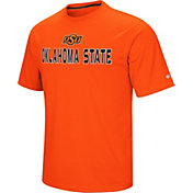 Colosseum Athletics Men's Oklahoma State Cowboys Orange Pique Performance T-Shirt