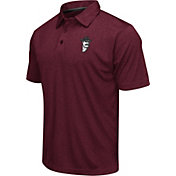 Colosseum Men's New Mexico State Aggies Maroon Heathered Performance Polo