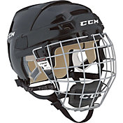 CCM Vector 08 Ice Hockey Helmet Combo