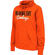 Colosseum Athletics Women's Oklahoma State Cowboys Black Performance Hoodie
