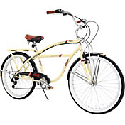 Columbia Men's Hampton 7 Speed Beach Cruiser Bike