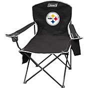 Coleman Pittsburgh Steelers XL Quad Chair With Cooler