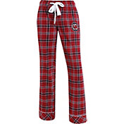 Concepts Sport Women's South Carolina Gamecocks Garnet/Black Captivate Plaid Sleep Pants
