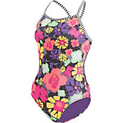 Dolfin Girls' Uglies Print Swimsuit