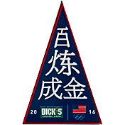 Team USA 2016 Olympic Games Chinese Language Pennant Pin
