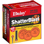 Daisy ShatterBlast Breakable Clay Targets – 60 Count