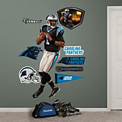 Fathead Cam Newton #1 Carolina Panthers Real Big Wall Graphic