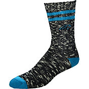 For Bare Feet Carolina Panthers Alpine Socks