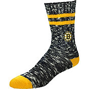 For Bare Feet Boston Bruins Alpine Socks