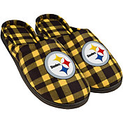 Forever Collectibles Pittsburgh Steelers Flannel Cup Sole Slippers
