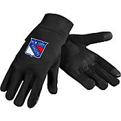 Forever Collectibles New York Rangers Text Gloves