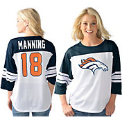 G-III for Her Women's Denver Broncos Peyton Manning #18 Knit Top
