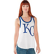 Touch by Alyssa Milano Women's Kansas City Royals White Tank Top