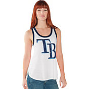 Touch by Alyssa Milano Women's Tampa Bay Rays White Tank Top