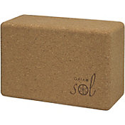 Gaiam Studio Select Cork Yoga Block