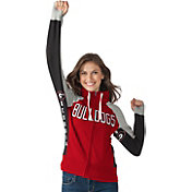 Hands High Women's Georgia Bulldogs Red Down the Field Hoodie