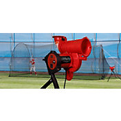 Heater Pro Curve Baseball Pitching Machine & Xtender 24' Batting Cage
