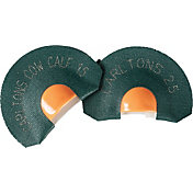 Hunters Specialties Wayne Carlton's Calls Hot Cows Tone Trough Elk Diaphragm Call – 2 Pack