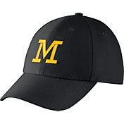 Jordan Men's Michigan Wolverines Blue Dri-FIT Wool Swoosh Flex Hat
