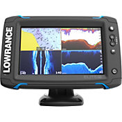 Lowrance Elite-7 Ti GPS Fish Finder with Mid/High/DownScan (000-12417-001)