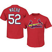 Majestic Men's St. Louis Cardinals Michael Wacha #52 Red T-Shirt