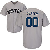 Majestic Men's Full Roster Cool Base Cooperstown Replica Boston Red Sox 1969 Grey Jersey