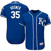 Majestic Men's Authentic Kansas City Royals Eric Hosmer #35 Alternate Royal Flex Base On-Field Jersey