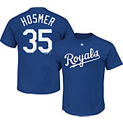 Majestic Triple Peak Men's Kansas City Royals Eric Hosmer Royal T-Shirt