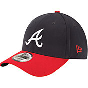 New Era Men's Atlanta Braves 39Thirty Classic Navy Stretch Fit Hat