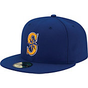 New Era Men's Seattle Mariners 59Fifty Alternate 2 Royal Authentic Hat