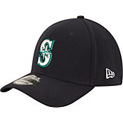 New Era Men's Seattle Mariners 39Thirty Classic Navy Flex Hat