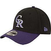 New Era Men's Colorado Rockies 39Thirty Alternate Classic Black Flex Hat