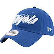 New Era Men's Kansas City Royals 9Twenty Script Royal Adjustable Hat