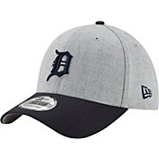 New Era Men's Detroit Tigers 39Thirty Change Up Redux Grey Stretch Fit Hat
