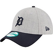 New Era Men's Detroit Tigers 9Forty Grey Adjustable Hat