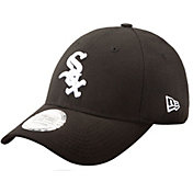 New Era Men's Chicago White Sox 9Forty Pinch Hitter Black Adjustable Hat