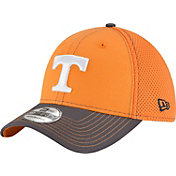 New Era Men's Tennessee Volunteers Tennessee Orange/Gray Team Front Neo 39Thirty Hat