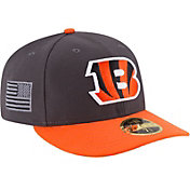 New Era Men's Cincinnati Bengals Crafted in America 59Fifty Graphite Fitted Hat