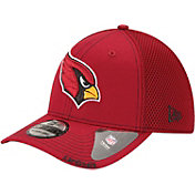 New Era Men's Arizona Cardinals 39Thirty Neoflex Red Stretch Fit Hat