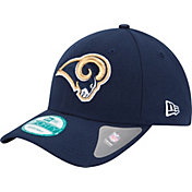 New Era Men's Los Angeles Rams League 9Forty Navy Adjustable Hat