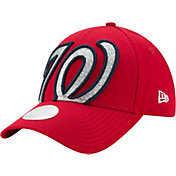 New Era Women's Washington Nationals 9Forty Glitter Glam Adjustable Hat
