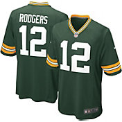 Nike Boys' Home Game Jersey Green Bay Packers Aaron Rodgers #12