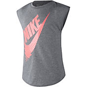 Nike Little Girls' Futura Reverberate Modern T-Shirt