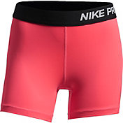 Nike Girls' 4'' Pro Cool Shorts