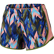 Nike Girls' Dry Tempo Geoprism Printed Running Shorts